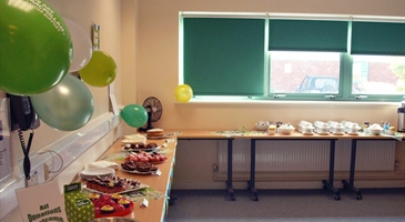 CHARITY BEGINS AT HOME  and with lots cakes at Waterhouse