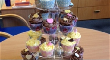 STAFF LAUNCH BAKE SALE FOR SANDS CHARITY