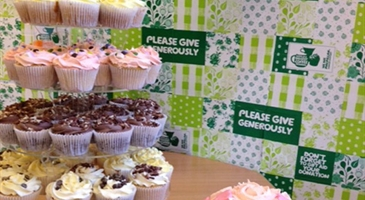 COFFEE MORNING BEGINS WITH CAKE AT GREENWAY BUSINESS CENTRE