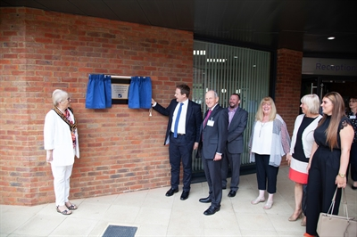 Building 80 officially opened by local MP
