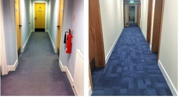 Newly refurbished business accommodation