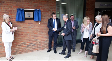 The official opening of Building 80 offices in Churchill Square