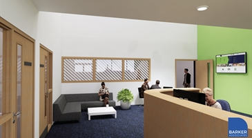 Artist's impression of our renovated Milton Keynes Business Centre