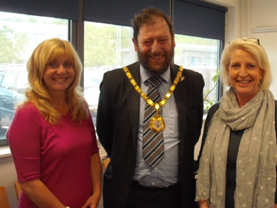 Mayor of MK meets growing businesses at Milton Keynes Business Centre