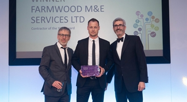 Managing Director, Nathan Wood, collects national award