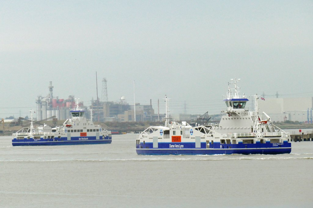 Woolwich ferries powered by Hydromaster