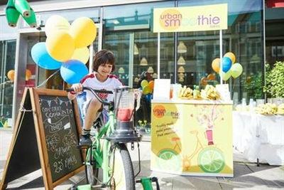 Pedal power turns health hobby into a viable business