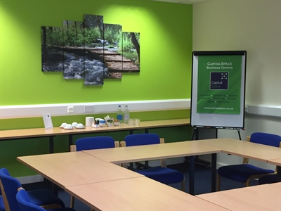 Capital Space meeting rooms for small- and medium-sized businesses