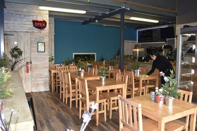 Refurbished café at our Sittingbourne Business Centre