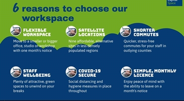 6 reasons to choose our workspace