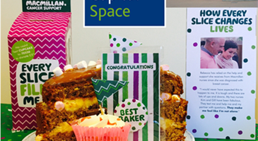 A slice of social for Macmillan