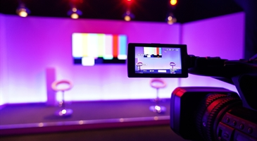 Live stream studio at the Milton Keynes Business Centre
