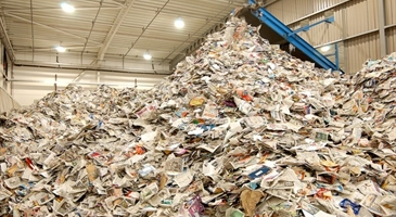 The Capital Space customers with a passion for recycling